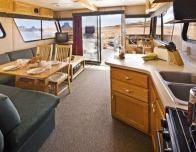Houseboat Interior