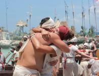 Paddlers Celebrate, Photo Courtesy of Xcaret