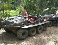 Our ATV adventure with EcoQuest in Puerto Rico.