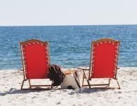 Chairs on Crescent Beach by Inn by the Sea