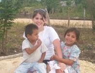 Heather and children