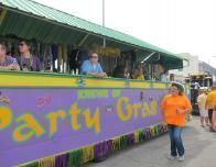 Local Krewe prepares for Mardi Gras.