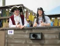 Pirates were among the many at the Biloxi Mardi Gras parade.