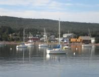 Sailboats in Grand Marais Harbor_0