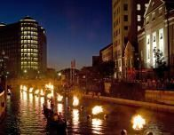 Get ready for a thrilling experience at WaterFire marina.