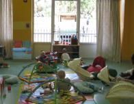 There's a cozy club room for babies at Club Med's Baby Club.