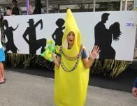 "I saw a ""banana boy"" in the Biloxi Mardi Gras parade."