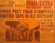Headline about Cheyenne Frontier Days