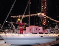 Christmas Boat Parade, Corpus Christi, Texas