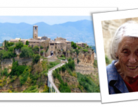 Civita di Bagnoregio and Maria