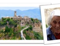 Civita di Bagnoregio and Maria