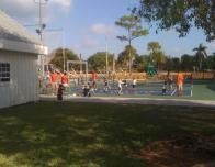 Sandpiper Bay has a special tennis camp to improve the skills of all ages.