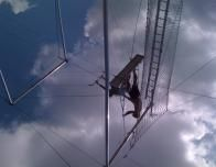 Trapeze is one of Club Med's favorite sports offerings.