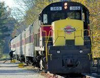 All aboard the Cuyahoga Valley Scenic Railroad.