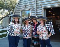 Carsland souvenir sellers at Disneyland.