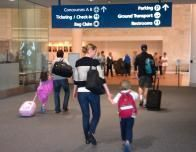 family-at-airport