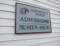 hanford mills sign