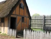 jamestown old fort houses