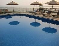Pool at Spruce Point Inn