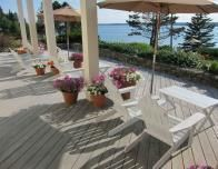 The Porch at Spruce Point Inn, Boothbay Harbor, Maine