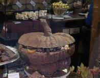 Stuffed Pumpkin-Shaped Cake