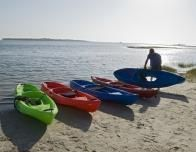 Go kayaking on St. George Island, Florida