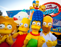 The wacky Simpsons Ride at Universal Orlando is fun for all ages.