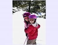 Kids Enjoy the Snow at Brianhead, Utah
