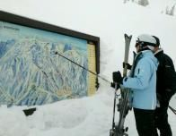 You need a good map to find your way around Snowbasin.