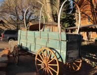 Wagons are found all over this part of Utah.