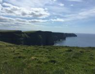 A stunning view of the Cliffs of Moher.