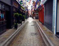 A hidden alleyway found in Dublin.