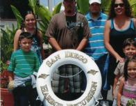 My family and I in 2005 about to board a ferry ride.