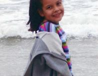 Little me at the beach.