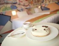 Kitty Cake served at Keio Plaza Hotel, Tokyo