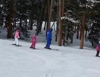 Keystone ski instructors lead kids into Discovery Adventure Zones