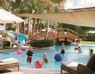 Shaded Kiddy Pool at Ritz Carlton Dubai