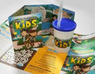 Special kids activity menus keep kids learning at the Gaylord Hotels.