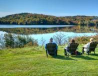 Relax with the family at Manoir du Lac Delage