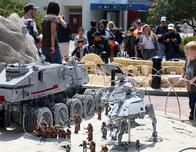 The Force is With You at Star Wars at Legoland California's Miniland
