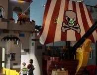 The Legoland Florida will have a themed lobby with Castle play area for little Legolers.