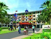 The new Legoland Florida Hotel opens May 15, 2015.