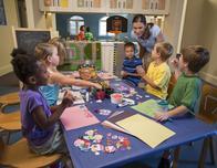 Campo Portofino kids program at Loews Portofino Bay Resort.