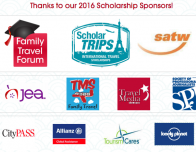 FTF 2016 Teen Travel Writing Scholarship Sponsors