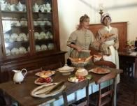 Guide describes the family's home life at the Destrehan Plantation.