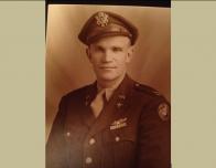 Portrait of Lt. Col. E.E. Lundak found in a British war museum.