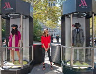 Marriott Hotels Teleporter Booth in New York City