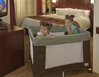 Coverplay covers keep hotel cribs clean and hygienic for baby