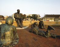 Alex Haley State in Annapolis Maryland, photo courtesy Maryland Tourist Office