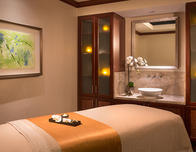 Ritz Carlton Marina del Rey massage treatment rooms.